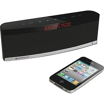 Spracht AURA BluNote PRO Speaker System - 4 W RMS - Wireless Speaker(s) - Black