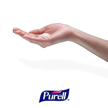 PURELL  CS6 Touch-Free Dispenser Floor Stand for PURELL Hand Sanitizer, Black/Chrome (7416-DS)