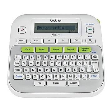 Brother P-Touch PTD210 Desktop Label Maker